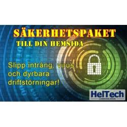 Säkerhetspaket för hemsida